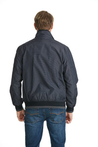 Sporty Bomber Jacket Navy