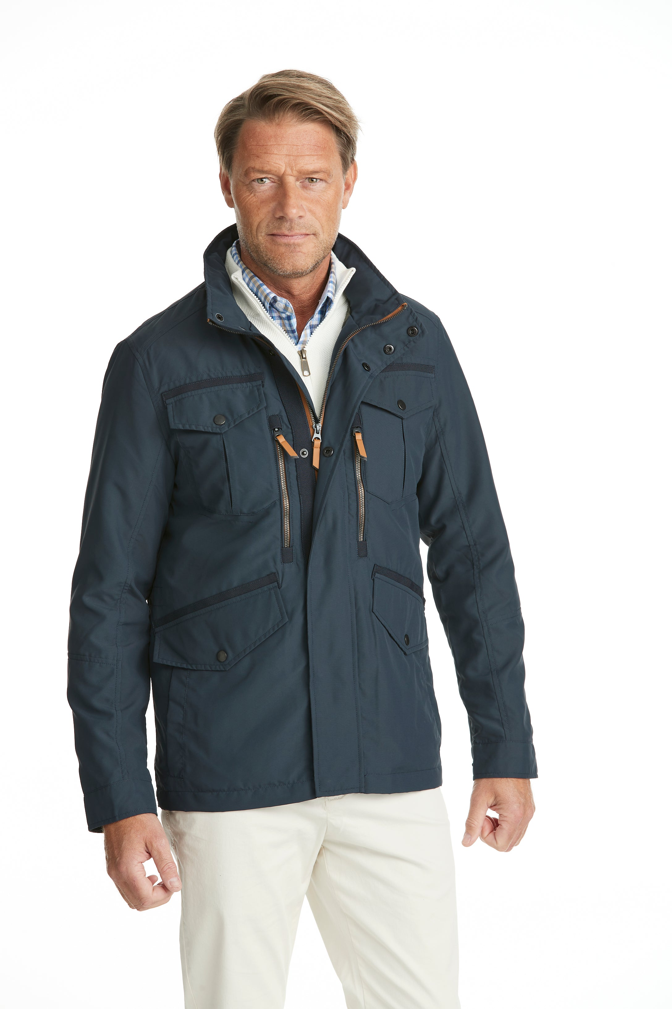 Lightweight Field Jacket Navy