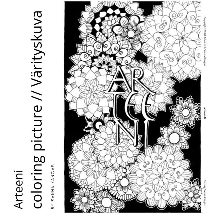 Arteeni Coloring Picture