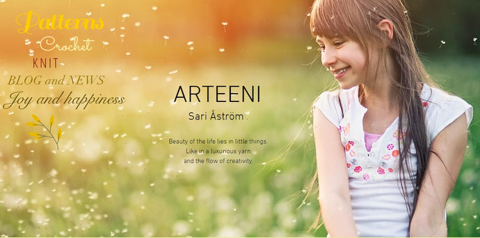 Brand new Arteeni site with Web Store
