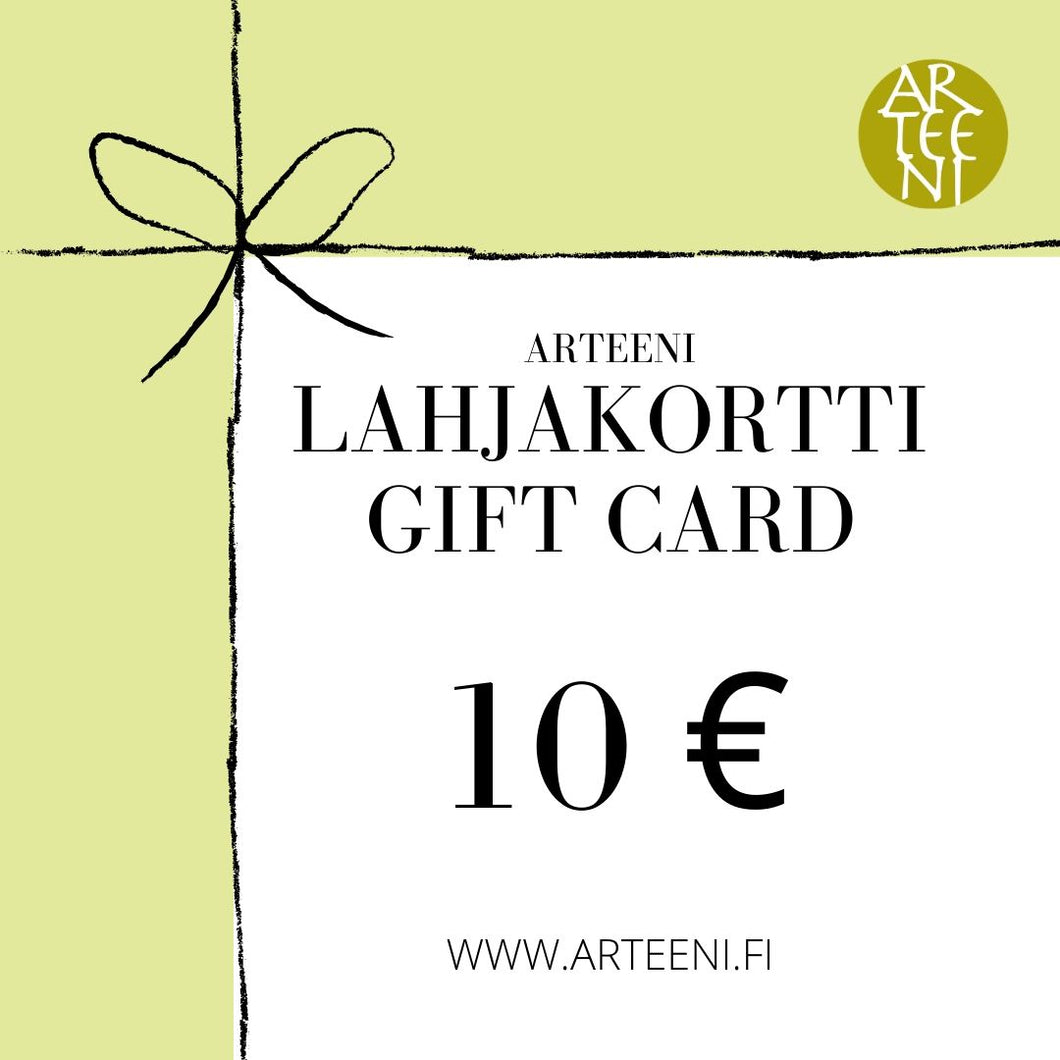 Lahjakortti / Gift Card - Crochet and knitting