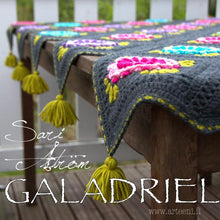 Load image into Gallery viewer, GALADRIEL - Virkatun peiton ohje suomeksi - Crochet and