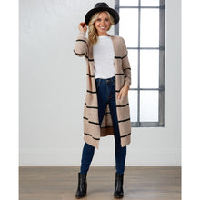 Load image into Gallery viewer, Wrenn Striped Cardigan