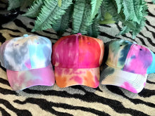 Load image into Gallery viewer, Tie Dye Ballcaps