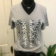 Load image into Gallery viewer, OK Leopard Tee