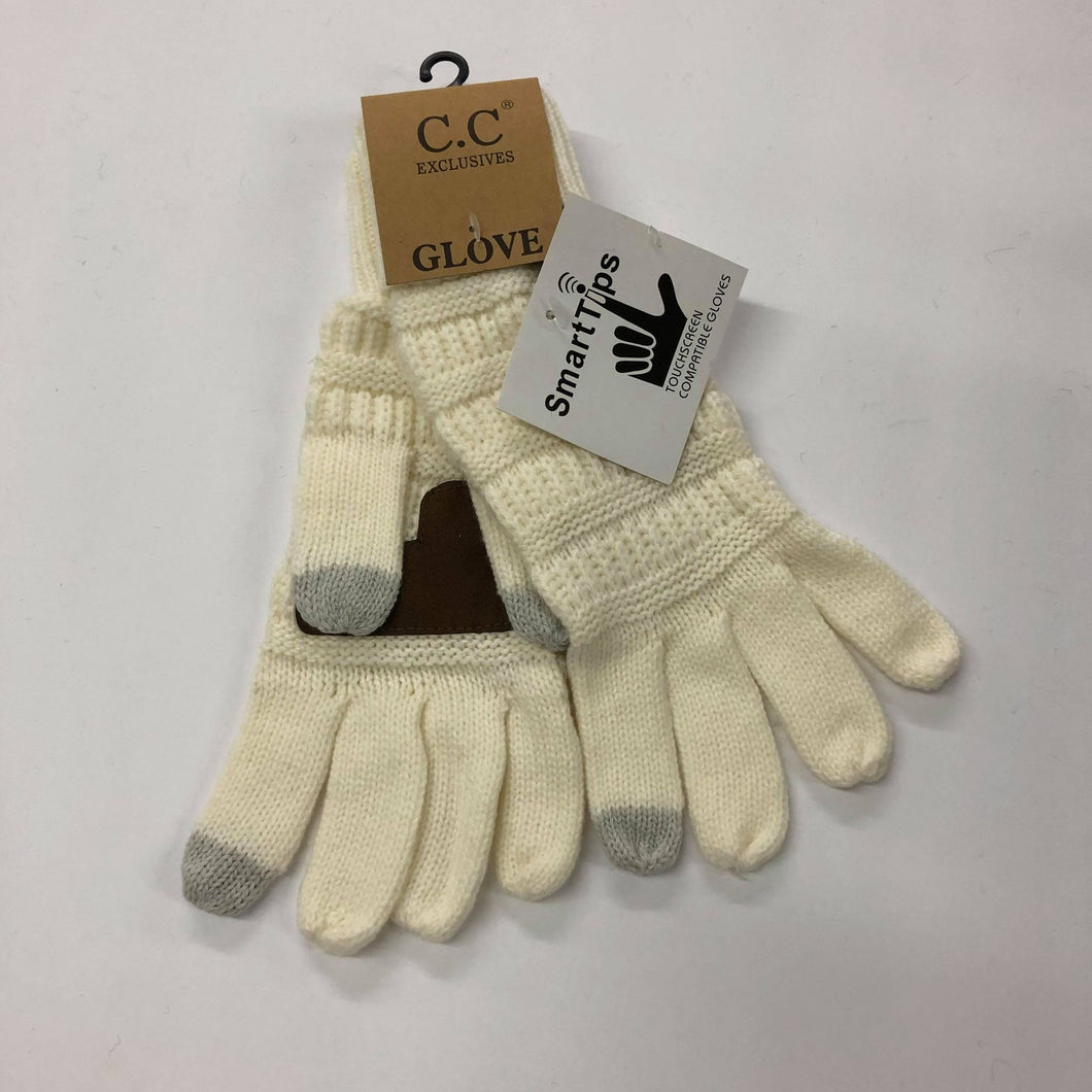 CC Ivory Gloves