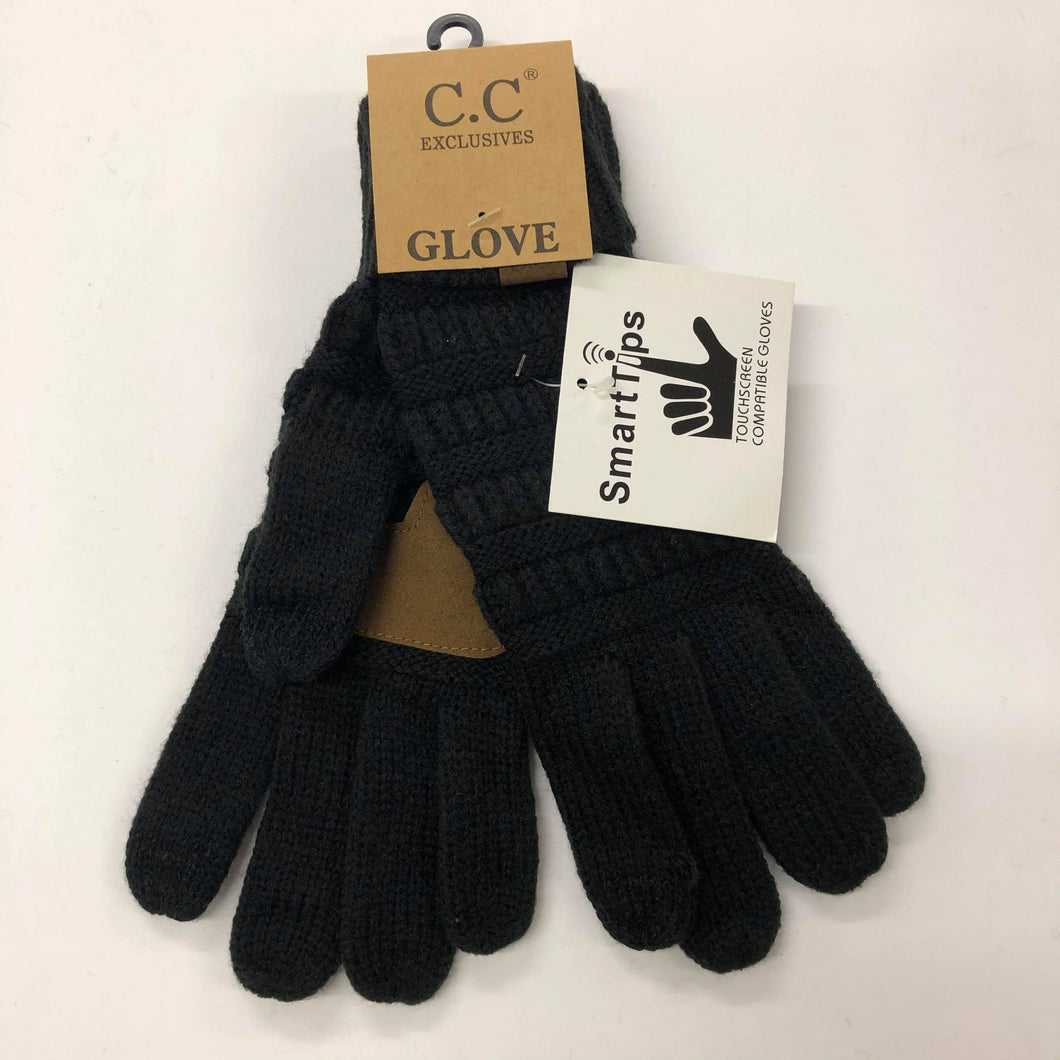CC Black Gloves