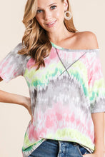 Load image into Gallery viewer, Madison Fab Tie Dye Top