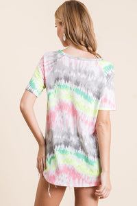 Madison Fab Tie Dye Top