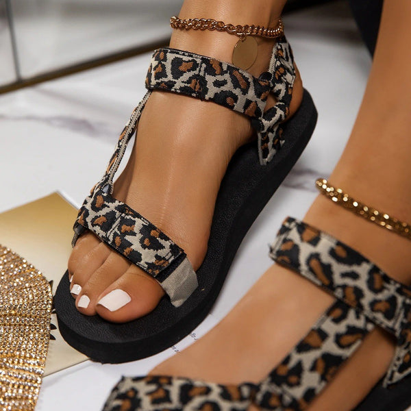 Bellanova Leopard Sandals