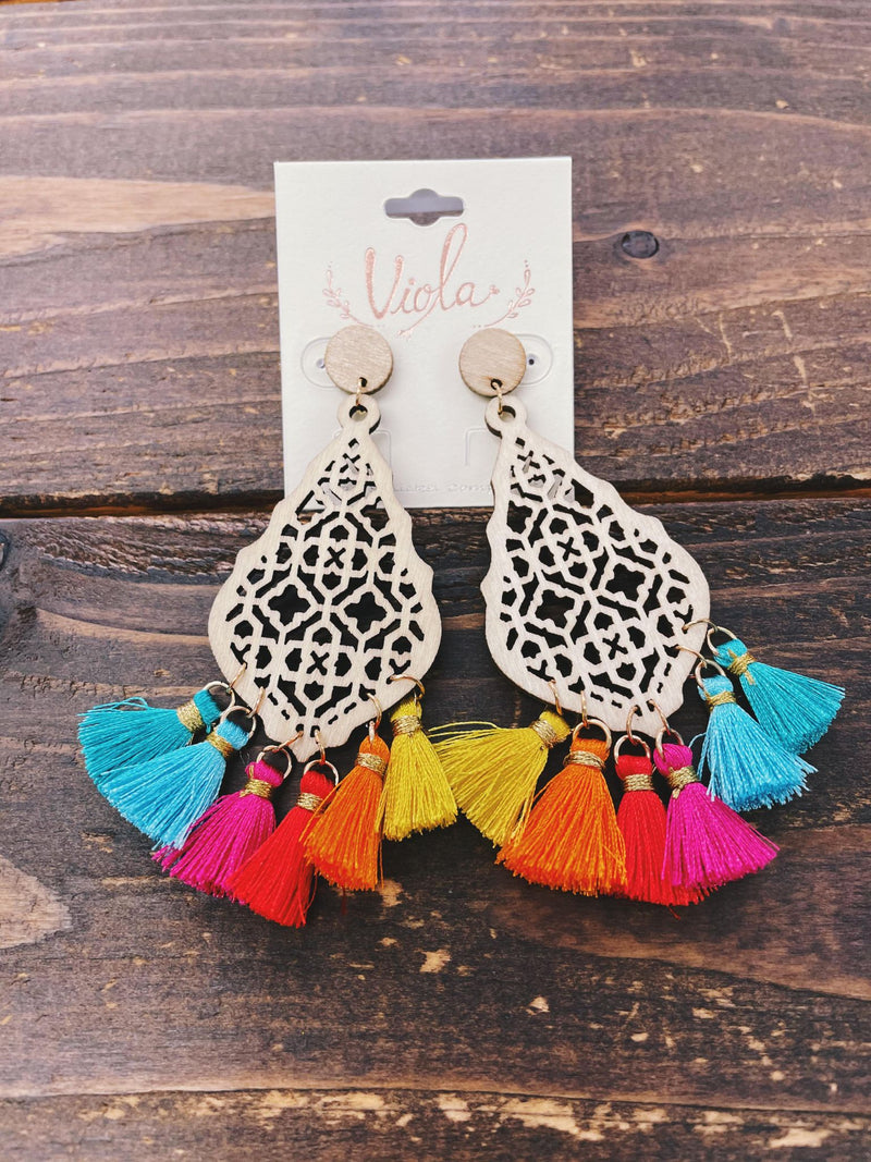 Lori Tassel Earrings