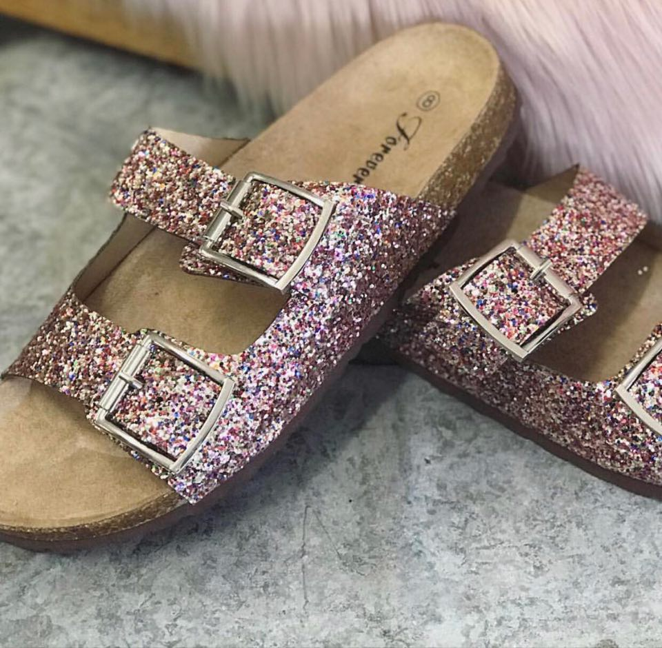 MULTI CONFETTI SANDALS