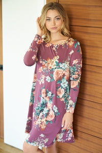 Tiffany Fall Floral Dress