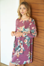 Load image into Gallery viewer, Tiffany Fall Floral Dress
