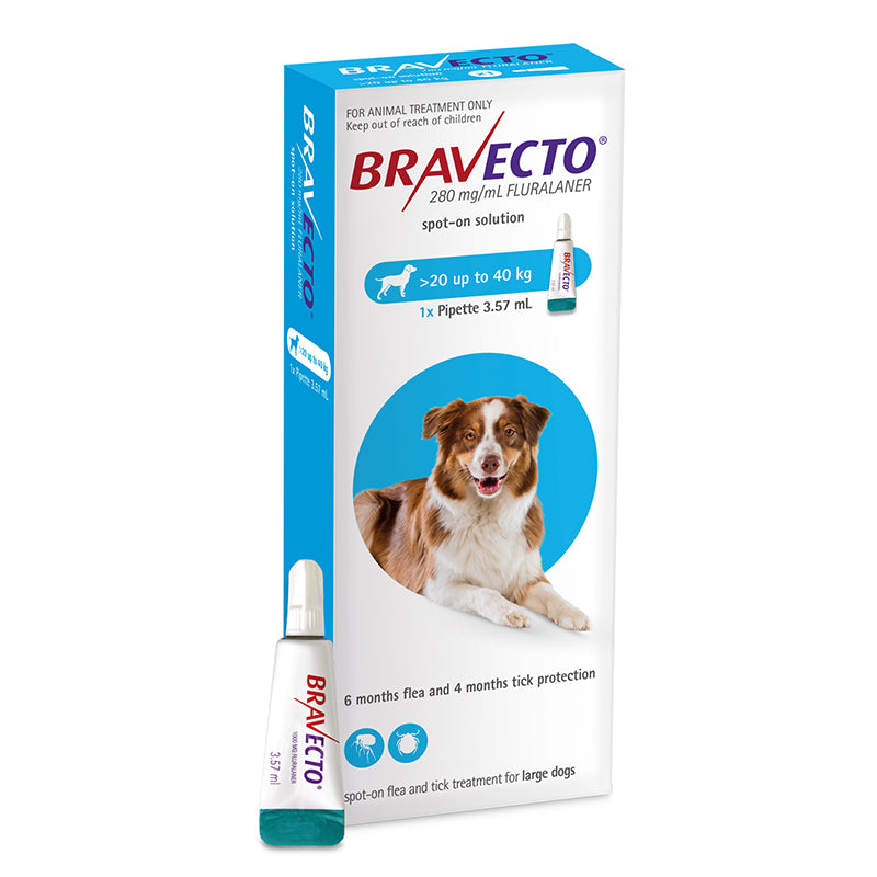 Bravecto Spot-On for Large Dogs (20-40kg)