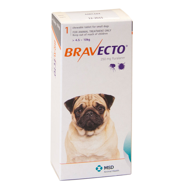 Bravecto Tablet for Small Dogs (4.5-10kg)