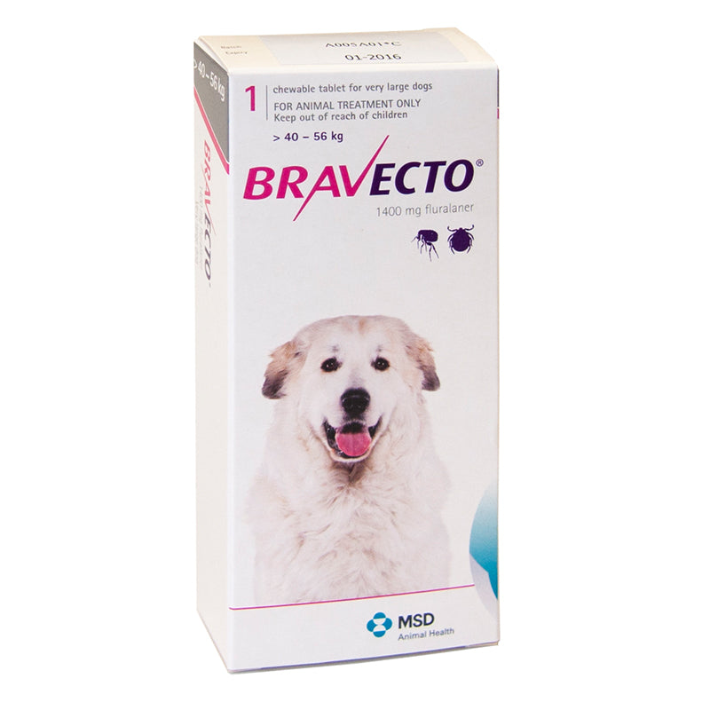 Bravecto Tablet for Extra Large Dogs (40-56kg)