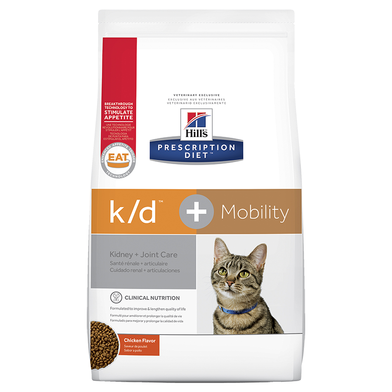 Hills Prescription Diet K/D + Mobility Cat (Dry Food)