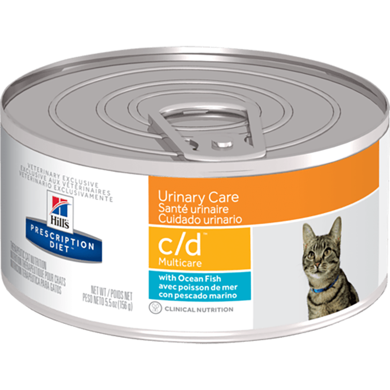 Hills Prescription Diet C/D Multicare Cat - Ocean Fish (Wet Food)