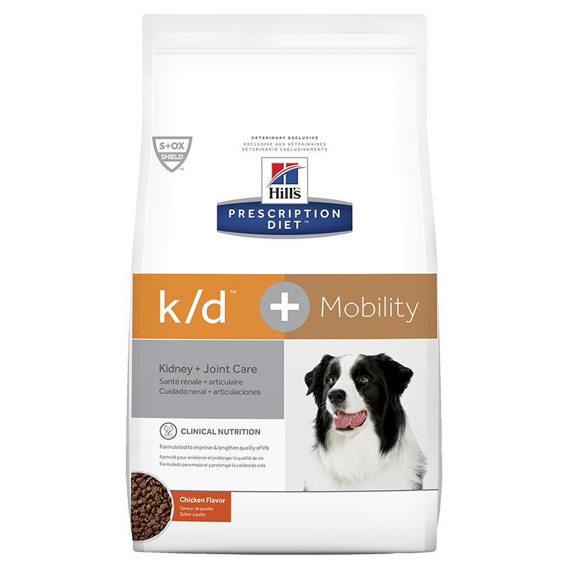 Hills Prescription Diet K/D + Mobility Dog (Dry Food)