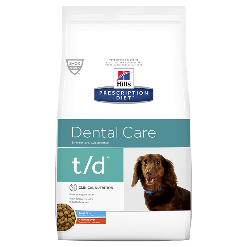 Hills Prescription Diet T/D Small Bites for Dogs (Dry Food)