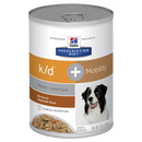 Hills Prescription Diet K/D + Mobility Dog - Chicken & Vegetable Stew (Wet Food)