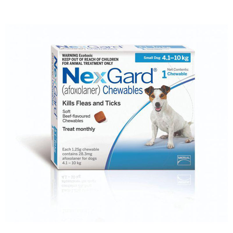 Nexgard Chew for Small Dogs (4-10kg)