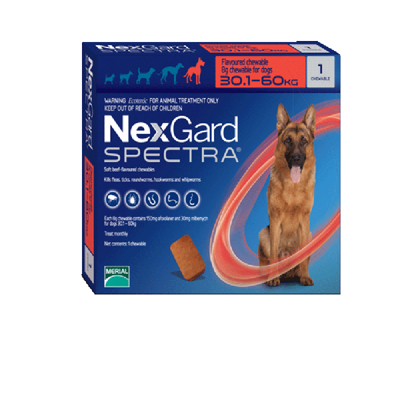 Nexgard Spectra for Extra Large Dogs (30.1-60kg)