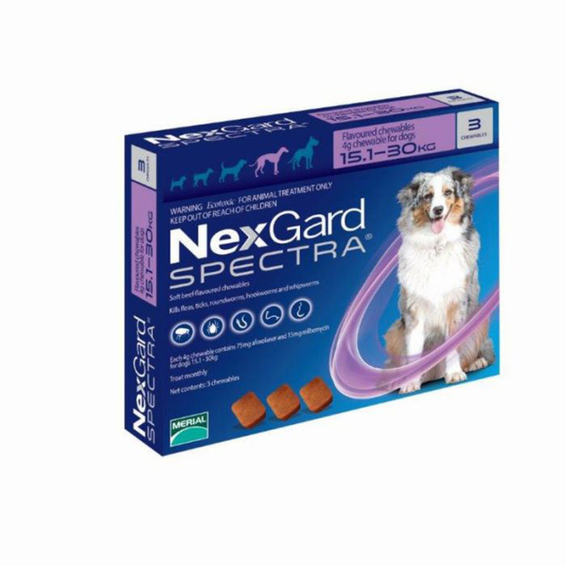 Nexgard Spectra for Large Dogs (15.1-30kg)