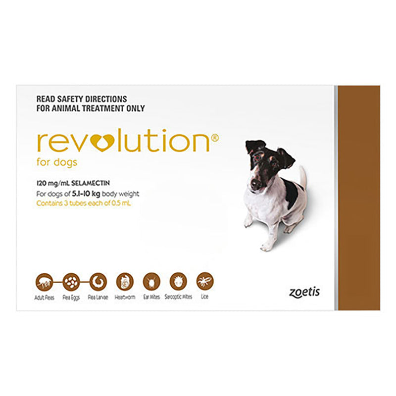 Revolution For Small Dogs (5.1-10kg)
