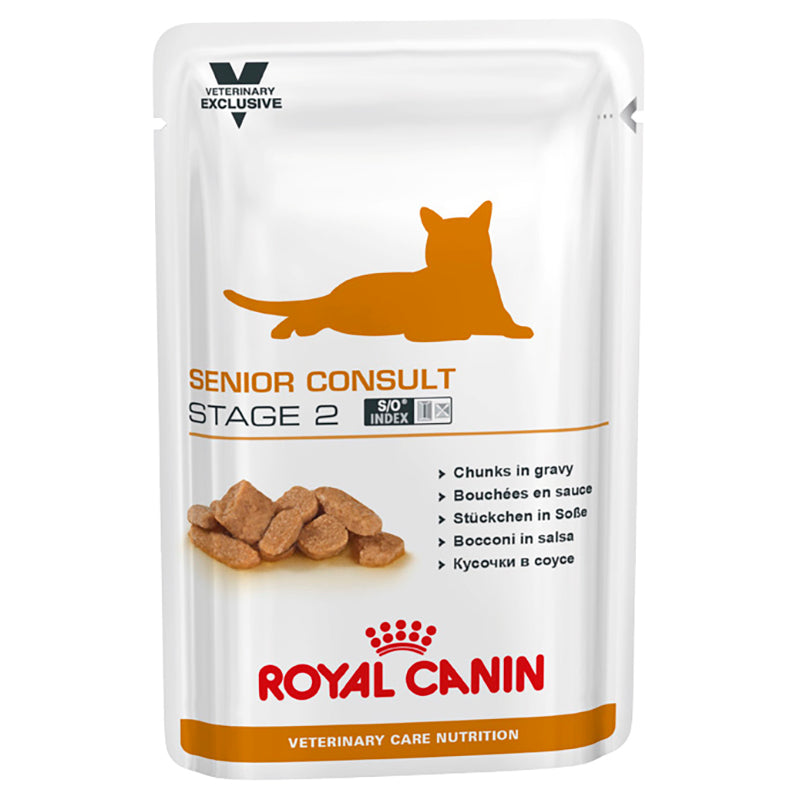 Royal Canin Senior Consult Stage 2 Cat (Wet Food)