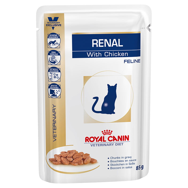Royal Canin Veterinary Renal Cat - Chicken (Wet Food)