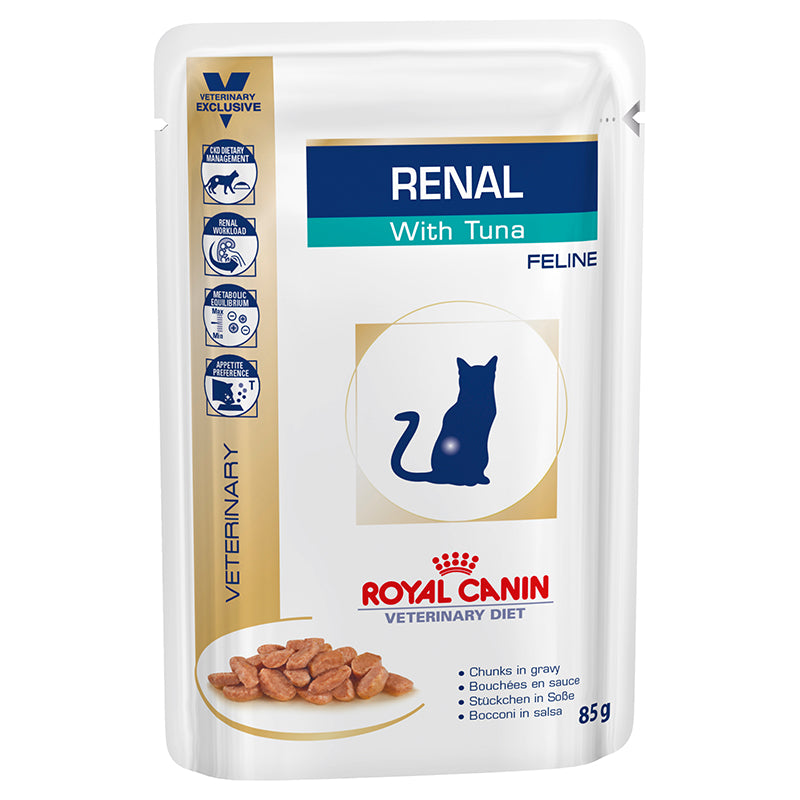 Royal Canin Veterinary Renal Tuna Cat (Wet Food)