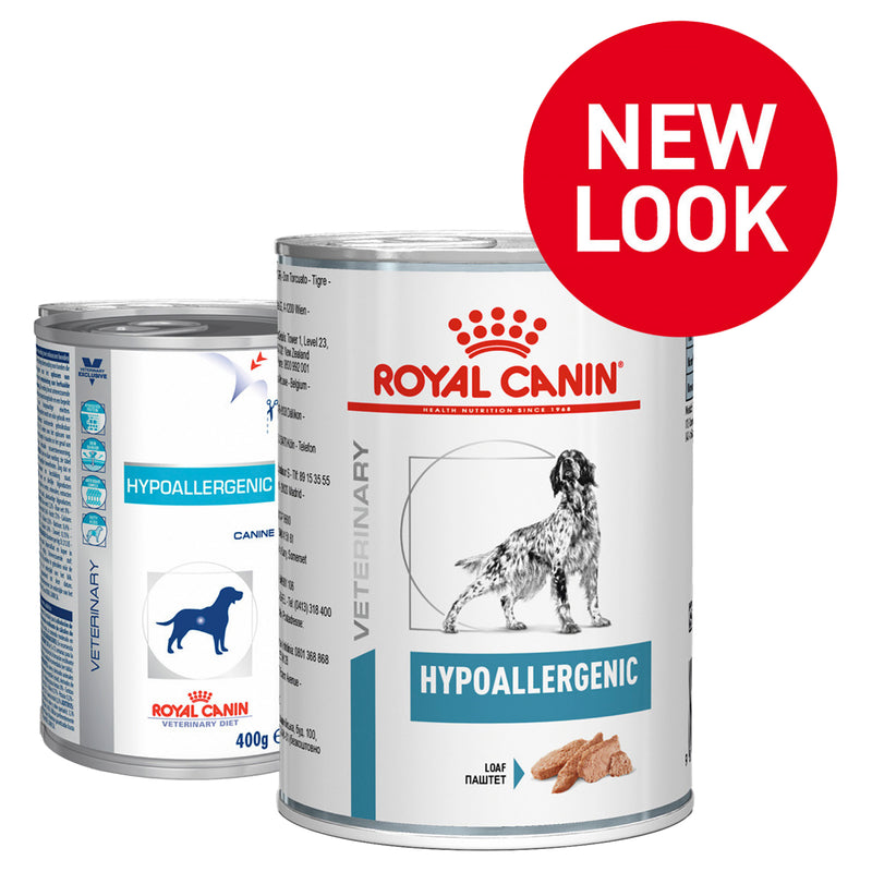 Royal Canin Veterinary Hypoallergenic Dog (Wet Food)