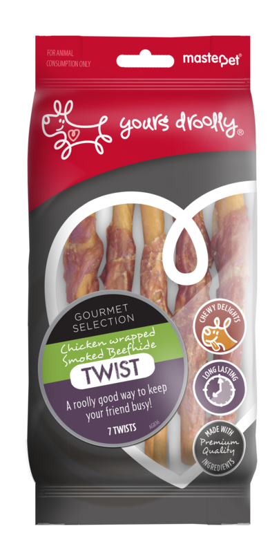 Yours Droolly Chicken Wrapped Twist 12cm