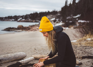 Yellow Swell Toque