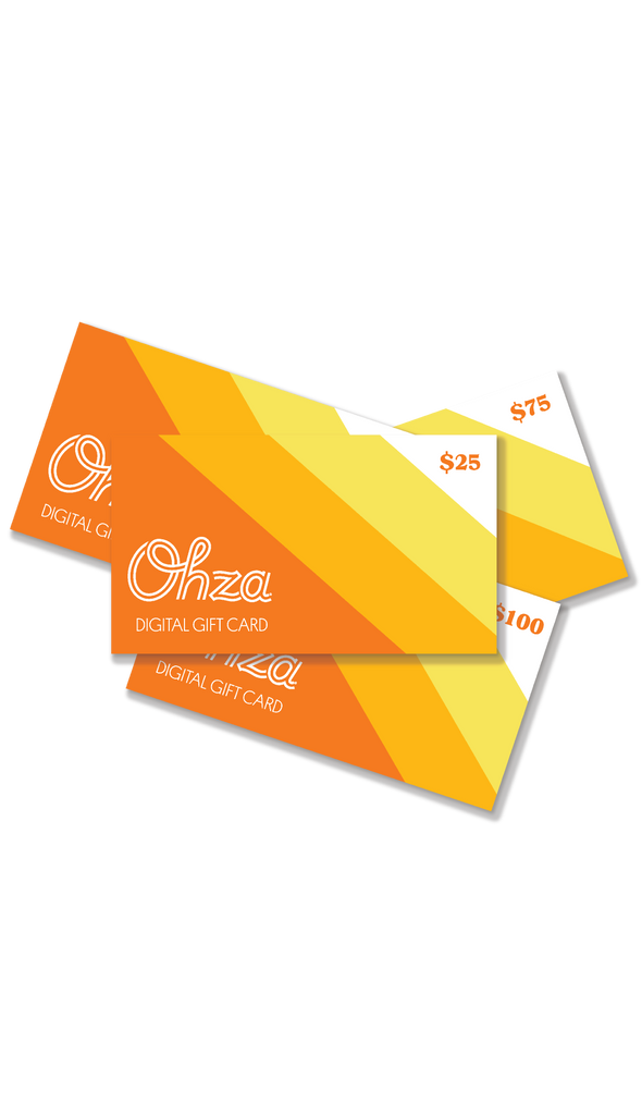 Ohza Gift Card