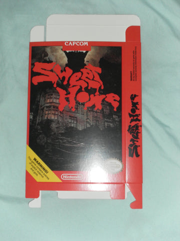 Sweet Home for Nintendo NES Box Only