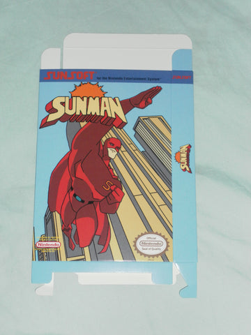 Sunman for Nintendo NES Box Only