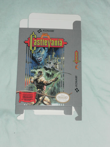 VS Castlevania for Nintendo NES Box Only