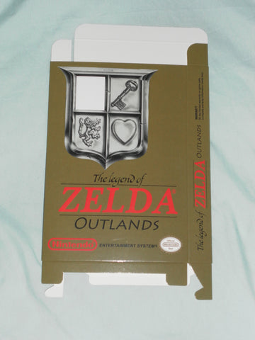 The Legend of Zelda Outlands for Nintendo NES Box Only