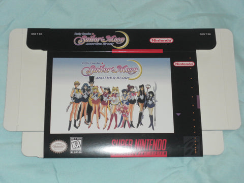 Sailor Moon Another Story for Super Nintendo SNES Box Only