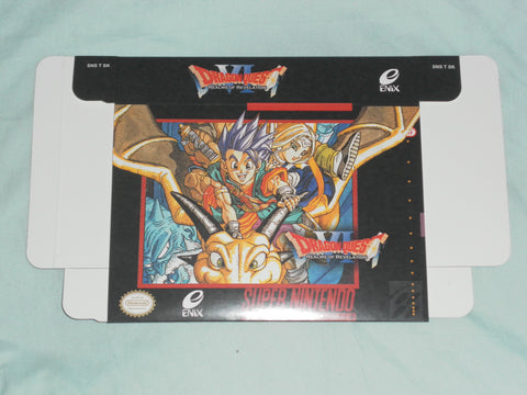Dragon Quest VI 6 for Super Nintendo SNES Box Only