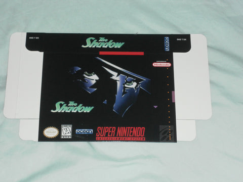 The Shadow for Super Nintendo SNES Box Only