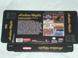 Arabian Nights for Super Nintendo SNES Box Only