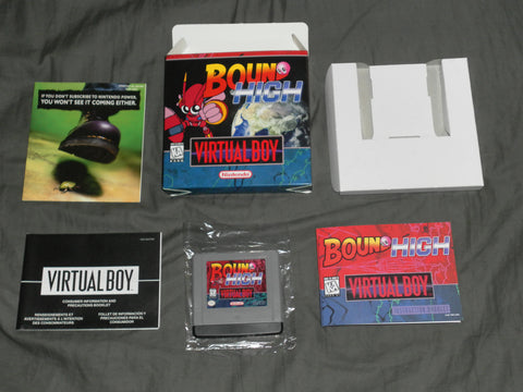 Bound High for Virtual Boy Complete in Box
