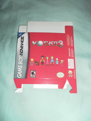 Mother 3 for GameBoy Advance GBA Box Only