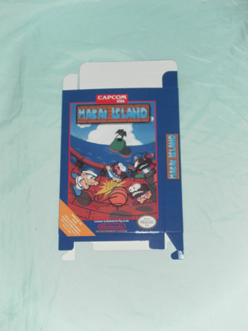 Makai Island for Nintendo NES Box Only