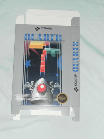 Quarth for Nintendo NES Box Only