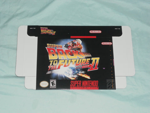 Super Back to the Future II for Super Nintendo SNES Box Only